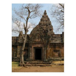Khmer Castle ... Buriram, Isaan, Thailand Postcard
