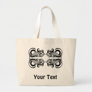 Khokhloma Exotique Large Tote Bag