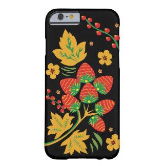 Khokhloma Strawberry IPhone Case