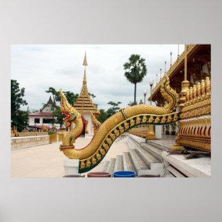 Khon Kaen Wat Nong Wang Print