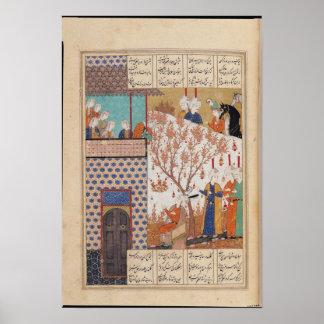 Khosro before Shirin's Palace Poster