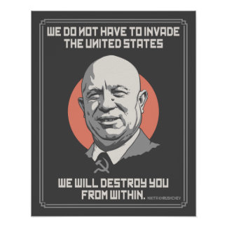 Khrushchev From Within Poster