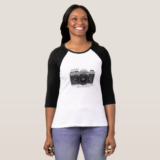 KHS Darkroom Photography 3/4 sleeve t-shirt