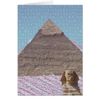 KHUFU PYRAMID CARD