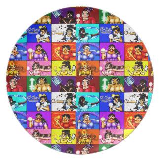 Ki-Chan: Block Party Plate