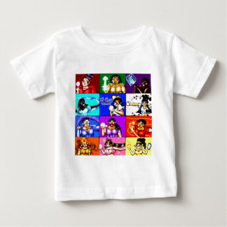 Ki-Chan: Demon Hunter Block Baby T-Shirt