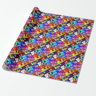 Ki-Chan: Demon Hunter Block Wrapping Paper