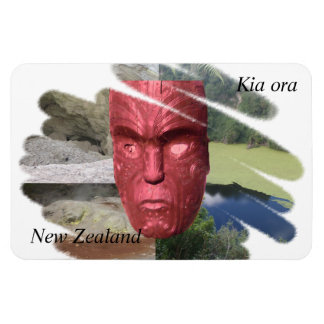 Kia Ora New Zealand magnet