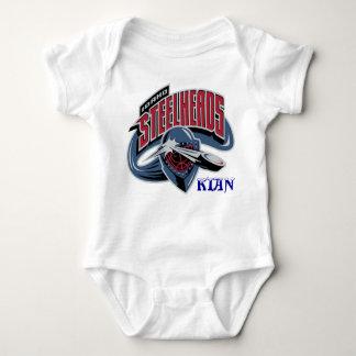 Kian's Onese Steelhead Fan! Baby Bodysuit