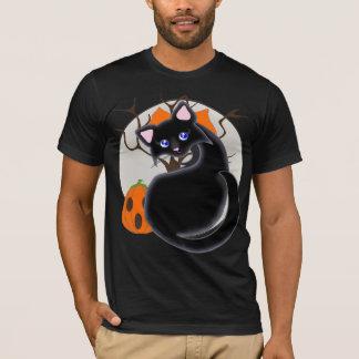 Kiara Toon Kitty Black Cat Moon Tree Shirt