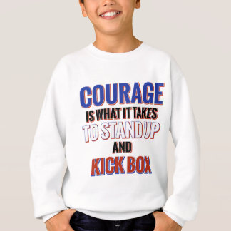 KICK BOX DESIGN SWEATSHIRT