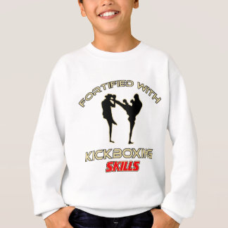 Kick Boxing Designs Sweatshirt
