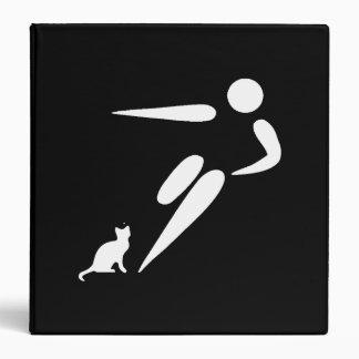 Kick Cat Vinyl Binders