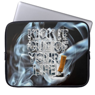 Kick It Out Of Your Life! Laptop Sleeve