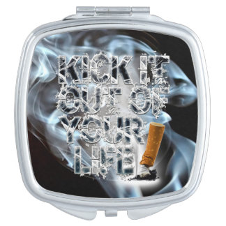 Kick It Out Of Your Life! Makeup Mirror