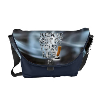 Kick It Out Of Your Life! Messenger Bag