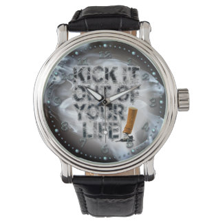 Kick It Out Of Your Life! Watches