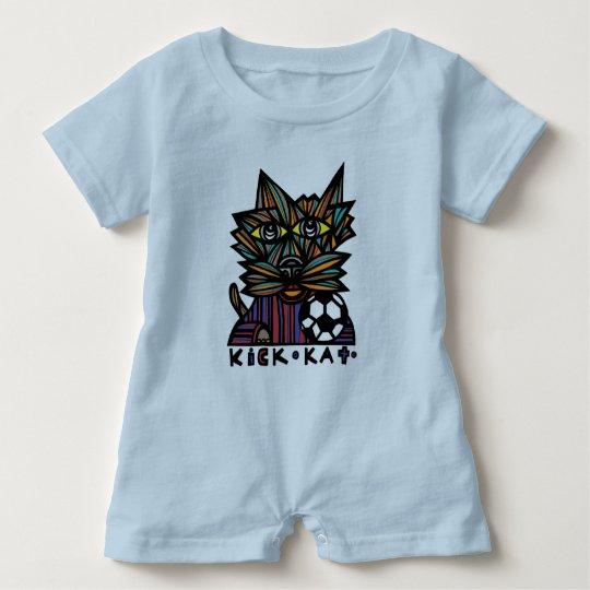 Kick Kat Baby Romper