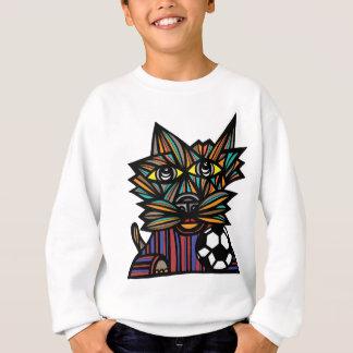 """Kick Kat"" Kids' Hanes Sweatshirt"