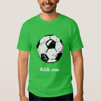 Kick Me Soccer Ball Men's T-Shirt
