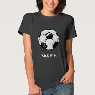Kick Me Soccer Ball Women's T-Shirt