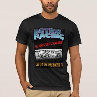 KICK OUT THE JAMS RETRO SLOT CAR SHIRT