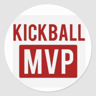 kickball mvp Sticker