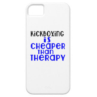 kickboxing Is Cheaper  Than Therapy iPhone 5 Case