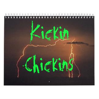 Kickin Chickins Calander Calendar