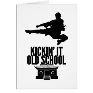 Kickin' It Old School Card