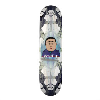 Kickin It Skater Cartoon Skate Board Decks