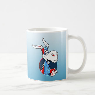 Kicking Ass Democrat Funny Donkey Patriotic Mug