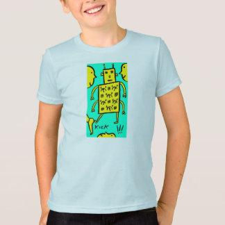Kicking Robot T-Shirt