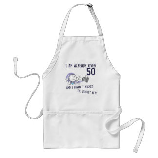 Kicking the Bucket Aprons