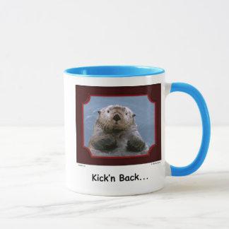 """""""Kick'n Back!"""" Sea Otter Mug"""