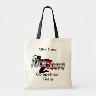 kickzone_logo[1], Competition Team, Miss Tracy Tote Bag
