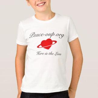 Kid American Apparel T- Shirt (White)