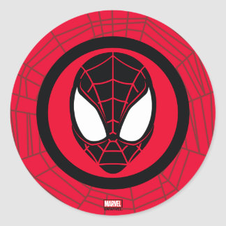 Kid Arachnid Icon Classic Round Sticker