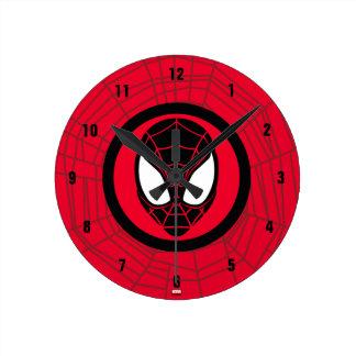 Kid Arachnid Icon Round Clock