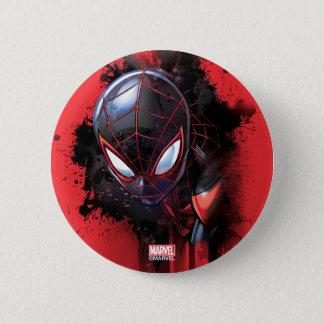 Kid Arachnid Ink Splatter 2 Inch Round Button