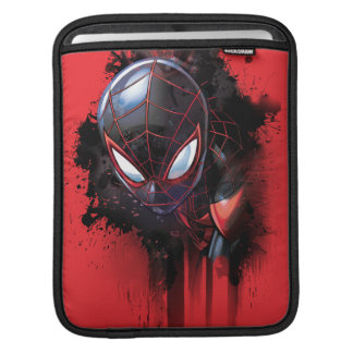 Kid Arachnid Ink Splatter iPad Sleeve