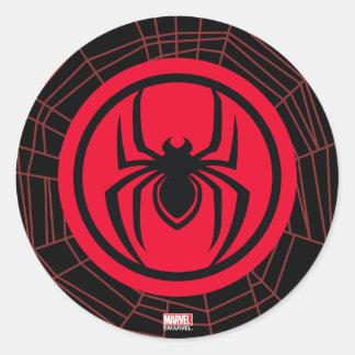 Kid Arachnid Logo Classic Round Sticker