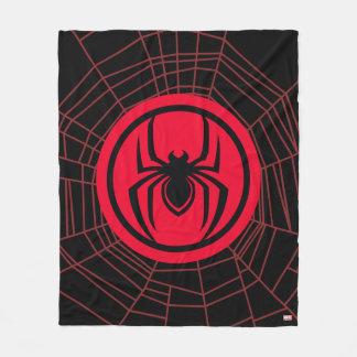 Kid Arachnid Logo Fleece Blanket