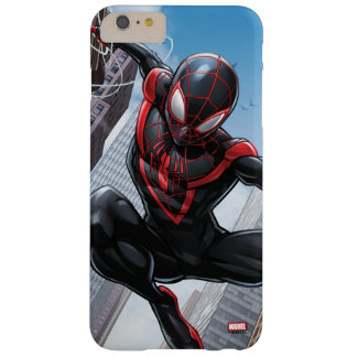 Kid Arachnid Web Slinging Through City Barely There iPhone 6 Plus Case