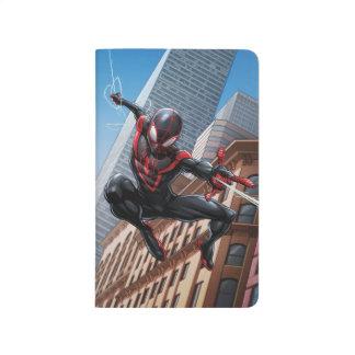 Kid Arachnid Web Slinging Through City Journal