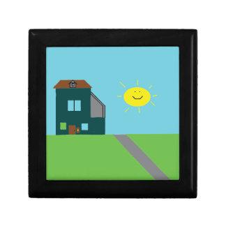 Kid Art - House Sky & Sunshine Gift Box