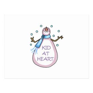 KID AT HEART POSTCARD