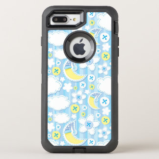 kid background OtterBox defender iPhone 7 plus case