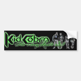 Kid Cobra bumper sticker