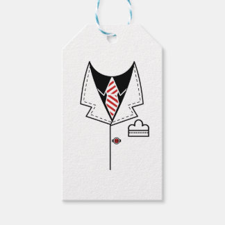 Kid cool tie design gift tags